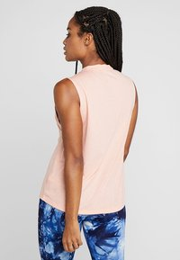 adidas Performance - MUST HAVES SPORT REGULAR FIT TANK TOP - T-shirt sportiva - pink - 2