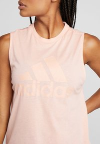 adidas Performance - MUST HAVES SPORT REGULAR FIT TANK TOP - T-shirt sportiva - pink - 4