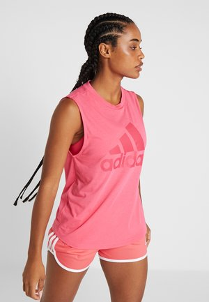 MUST HAVES SPORT REGULAR FIT TANK TOP - Funkční triko - real pink