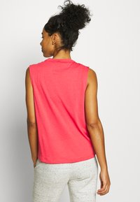 adidas Performance - MUST HAVES SPORT REGULAR FIT TANK TOP - Sports shirt - pink/white - 2