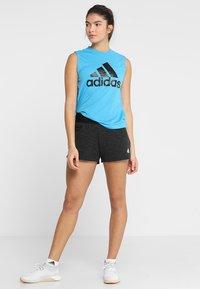 adidas Performance - MUST HAVES SPORT REGULAR FIT TANK TOP - Sportshirt - blue - 1