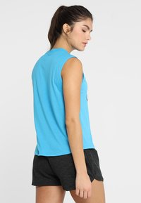 adidas Performance - MUST HAVES SPORT REGULAR FIT TANK TOP - Sportshirt - blue - 2