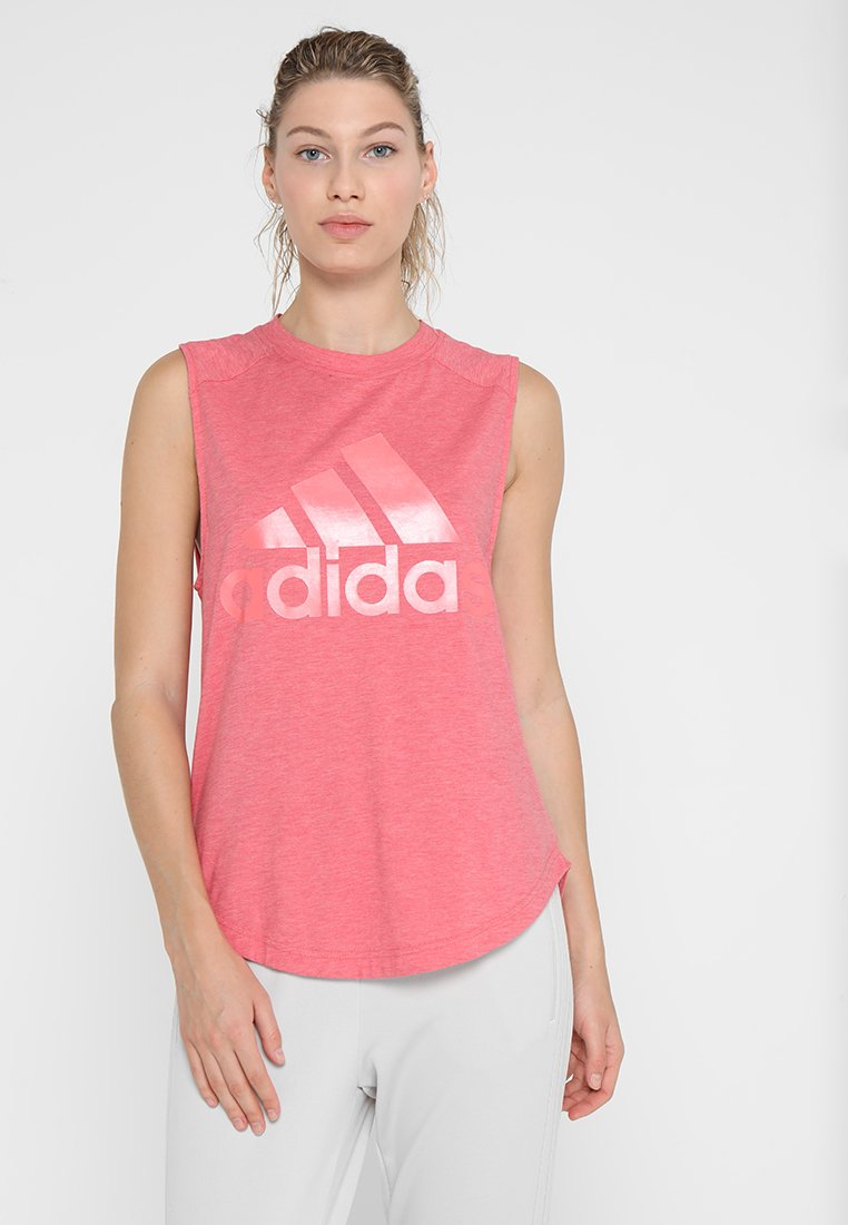 adidas Performance - WINNERS - Top - pink/red