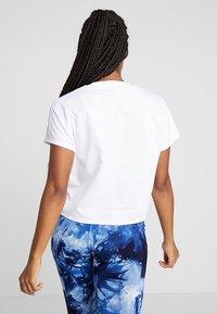 adidas Performance - ATTEETUDE TEE - T-shirt basic - white - 2
