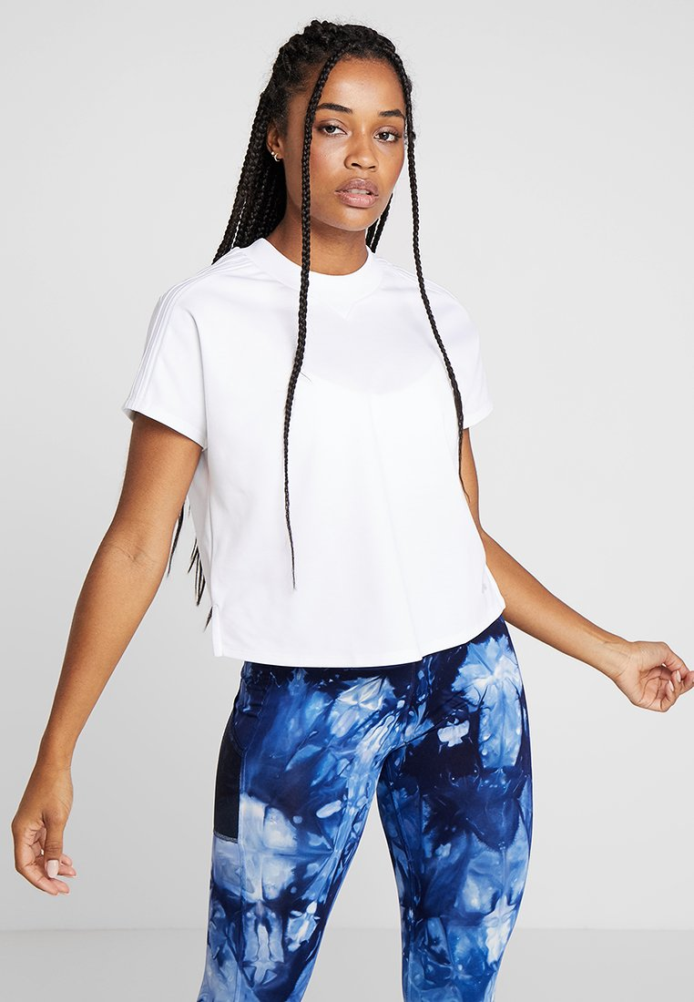 adidas Performance - ATTEETUDE TEE - T-shirt basic - white