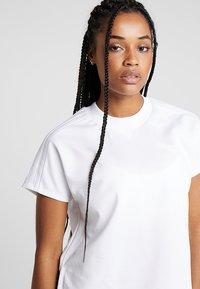 adidas Performance - ATTEETUDE TEE - T-shirt basic - white - 4