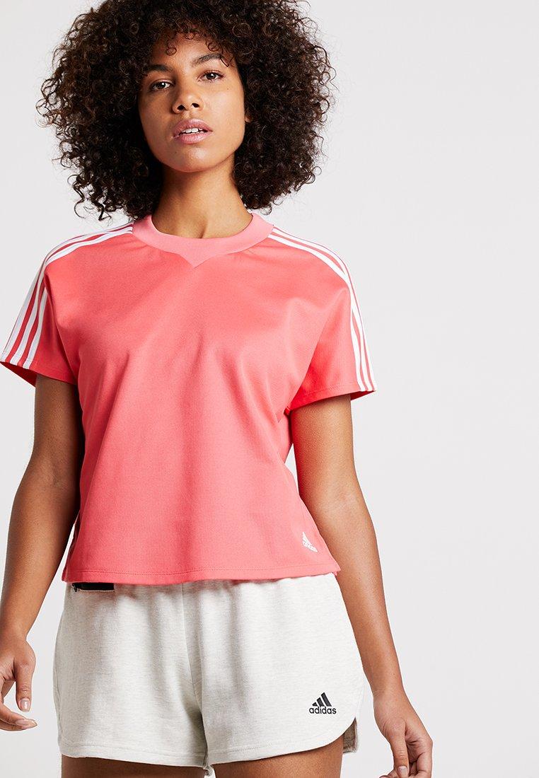 adidas Performance - ATTEETUDE TEE - Basic T-shirt - pink