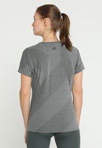 adidas Performance - T-shirts basic - legend ivy - 2