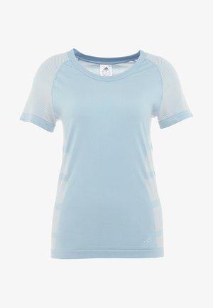 ULTRA LIGHT - T-Shirt print - ash grey/raw white