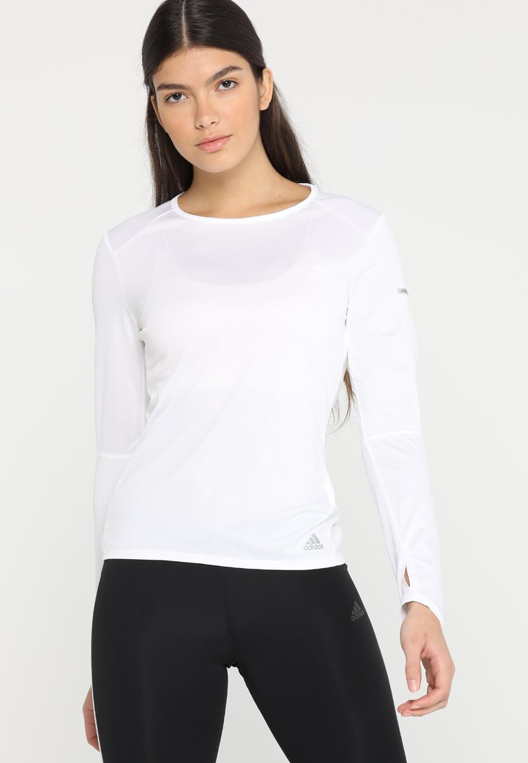 adidas Performance - RUN - Sports shirt - white