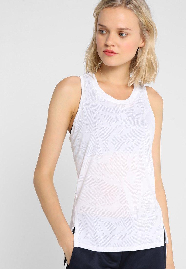adidas Performance - TANK - Funktionsshirt - white