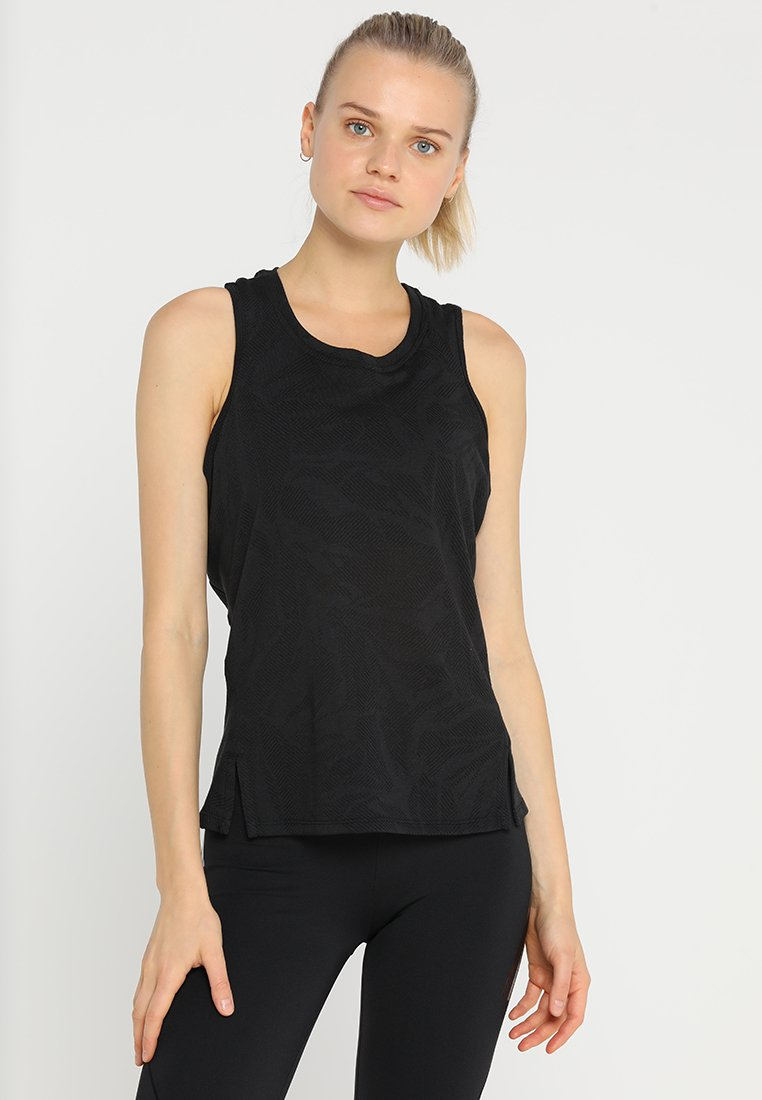 adidas Performance - TANK - Sports shirt - black