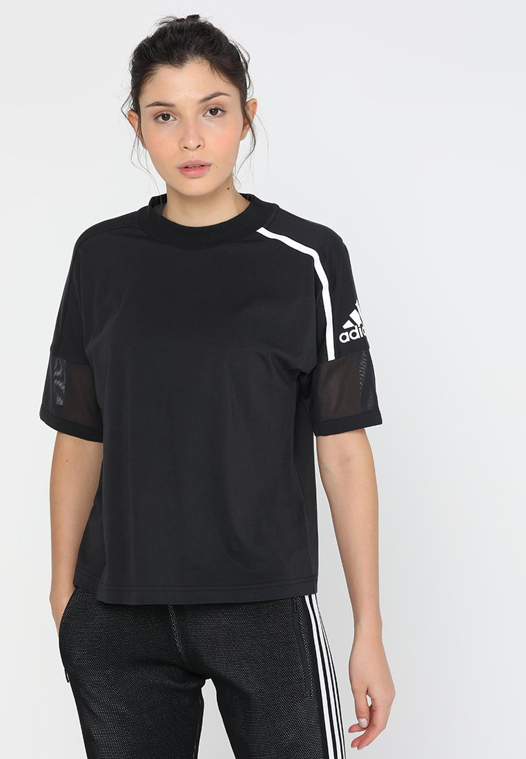 adidas Performance - TEE - Print T-shirt - black