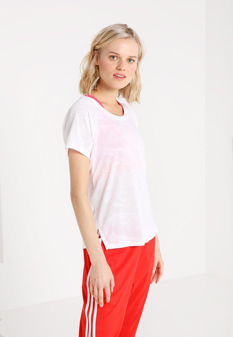 adidas Performance - TEE - Print T-shirt - white