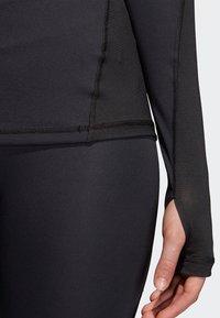 adidas Performance - ALPHASKIN SPORT - Topper langermet - black - 3