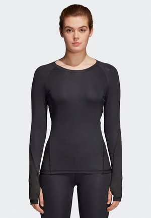 ALPHASKIN SPORT - Long sleeved top - black