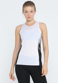 adidas Performance - SUB 2 SINGLET  - Sportshirt - white - 0