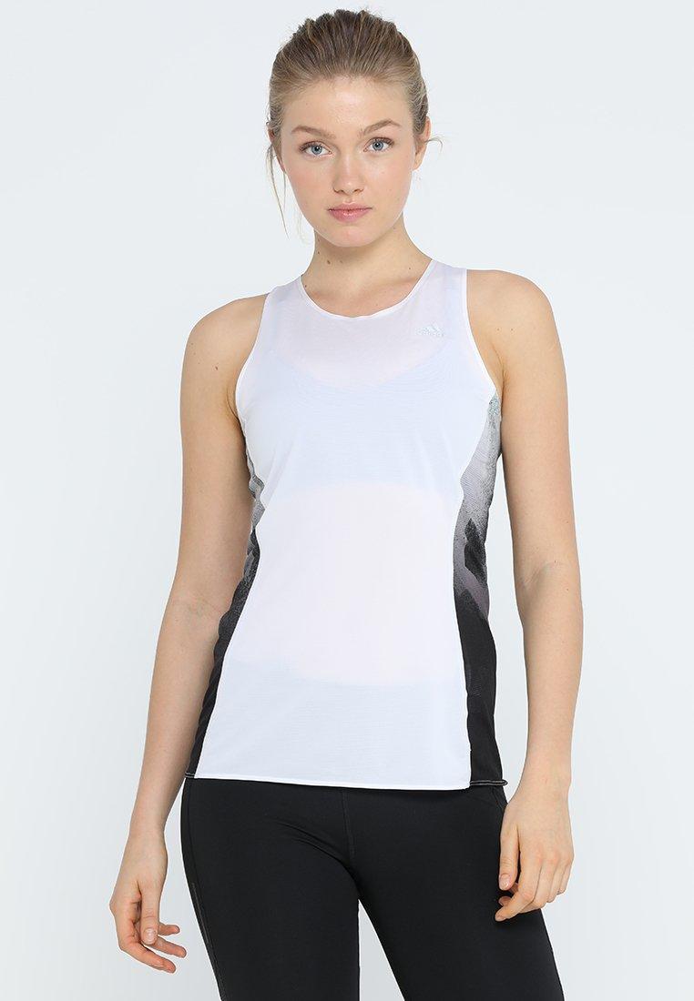 adidas Performance - SUB 2 SINGLET  - Sportshirt - white