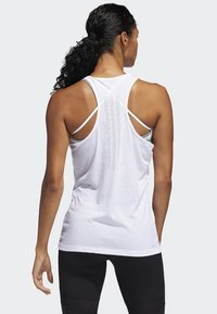 adidas Performance - PRIME 3-STRIPES TANK TOP - Top - white - 1