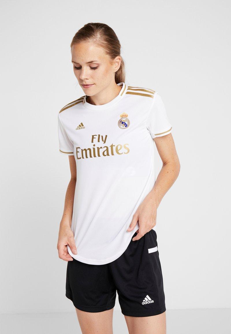 adidas Performance - REAL HOME - Klubbkläder - white