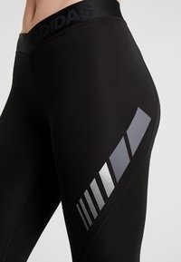 adidas Performance - ASK MOTO SPORT CLIMALITE ALPHASKIN LONG LEGGINGS - Tights - black - 3