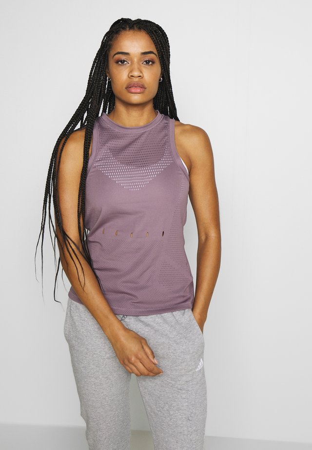 KNIT SPORT CLIMALITE WORKOUT TANK TOP - Sports shirt - purple