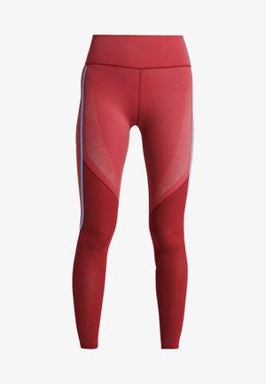 SPORT CLIMACOOL WORKOUT HIGH WAIST LEGGINGS - Legging - active maroon/black