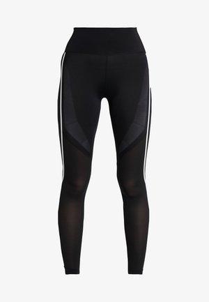 SPORT CLIMACOOL WORKOUT HIGH WAIST LEGGINGS - Legging - black/white