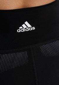 adidas Performance - SPORT CLIMACOOL WORKOUT HIGH WAIST LEGGINGS - Legging - black/white - 6