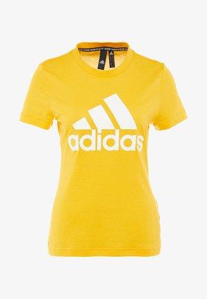 W MH BOS TEE - Funkční triko - gold