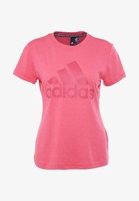 adidas Performance - W MH BOS TEE - Treningsskjorter - pink - 4