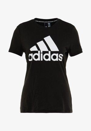 W MH BOS TEE - Treningsskjorter - black