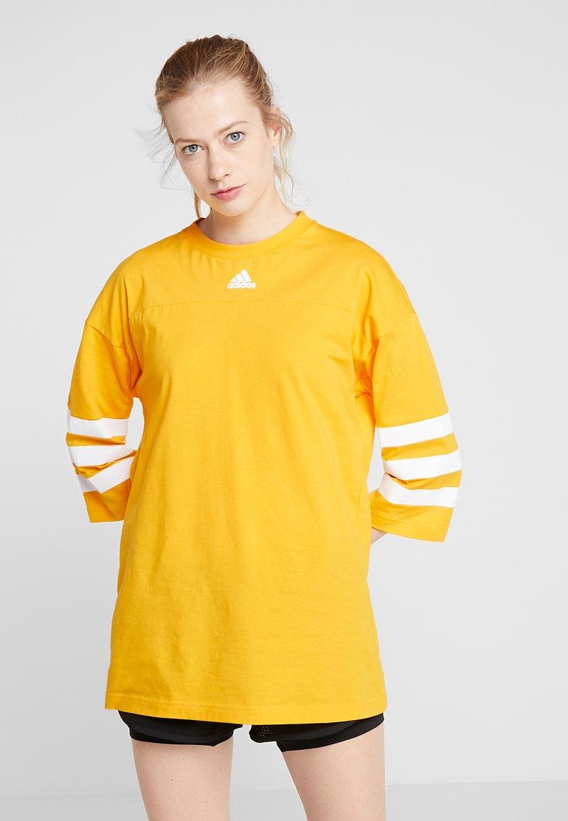adidas Performance - SID - Bluzka z długim rękawem - gold