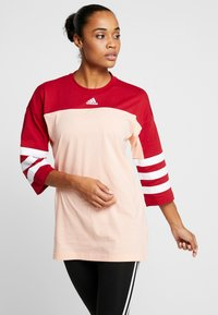 adidas Performance - SID - Long sleeved top - glow pink/active maroon - 0