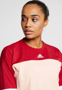 adidas Performance - SID - Long sleeved top - glow pink/active maroon