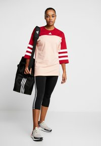 adidas Performance - SID - Long sleeved top - glow pink/active maroon - 1