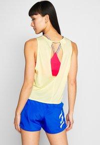 adidas Performance - TANK COOLER - Sports shirt - yellow - 2