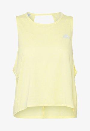 TANK COOLER - Camiseta de deporte - yellow