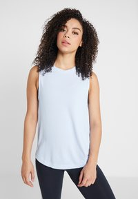 adidas Performance - PERF TANK - Top - glow blue - 0