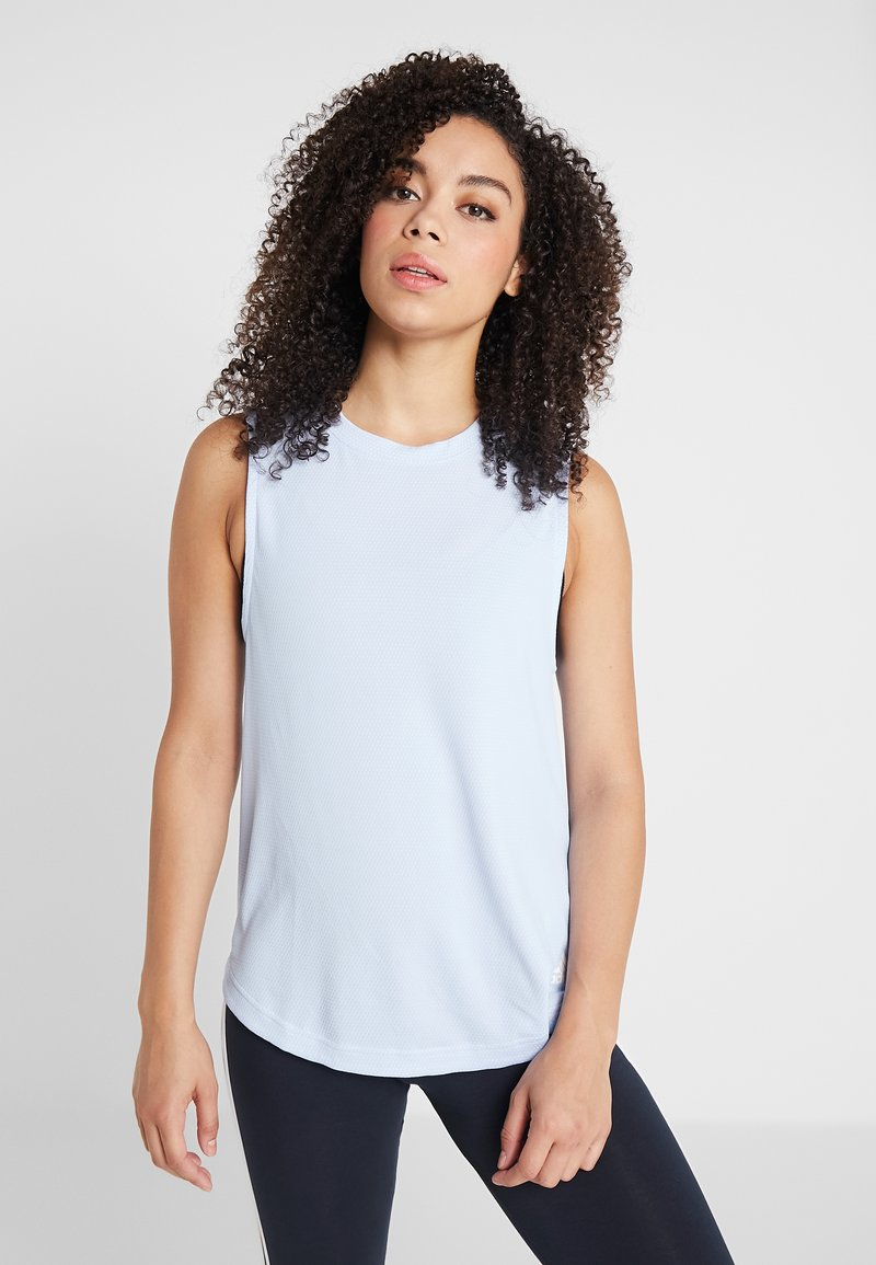 adidas Performance - PERF TANK - Top - glow blue