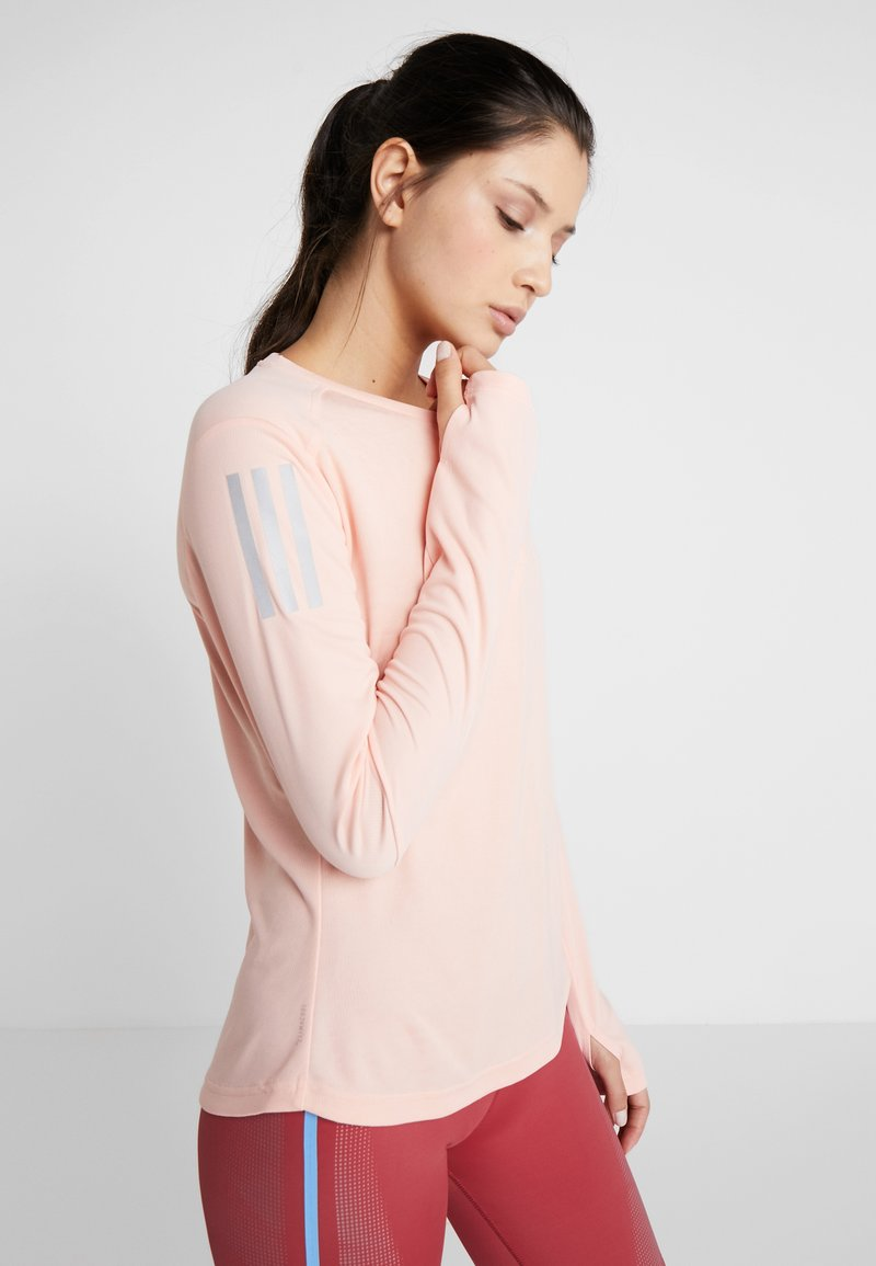 adidas Performance - OWN THE RUN - Sports shirt - pink