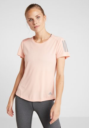 THE RUN TEE - T-shirts med print - pink