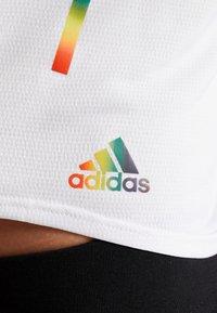 adidas Performance - TANK PRIDE - Top - white - 5