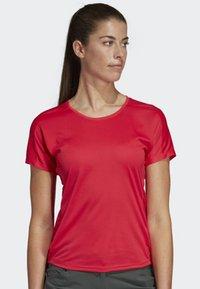 adidas Performance - TERREX TRAIL CROSS MOUNTAIN BIKE - Sports shirt - pink - 0