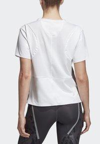 adidas by Stella McCartney - SPORT CLIMACOOL RUNNING T-SHIRT - Sportshirt - white - 3