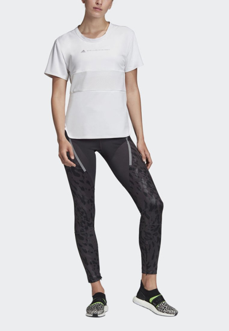 adidas by Stella McCartney - SPORT CLIMACOOL RUNNING T-SHIRT - Funktionströja - white
