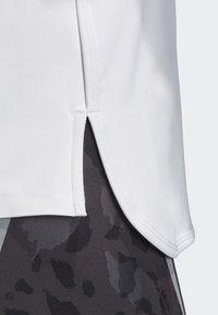 adidas by Stella McCartney - SPORT CLIMACOOL RUNNING T-SHIRT - Sportshirt - white - 6