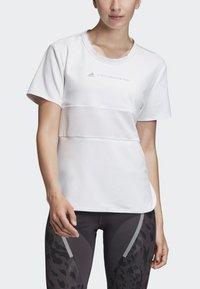 adidas by Stella McCartney - SPORT CLIMACOOL RUNNING T-SHIRT - Sportshirt - white - 2