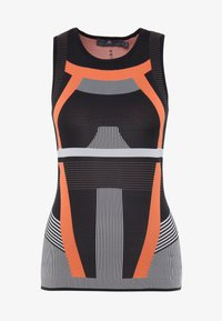 adidas Performance - PRIMEKNIT RUNNING TANK TOP - T-shirt de sport - black/chalk white/sesoor - 4