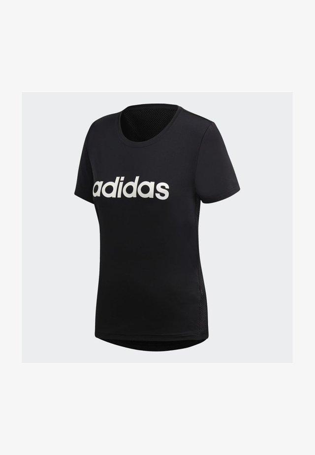 Design 2 Move Logo Tee - T-shirt med print - black